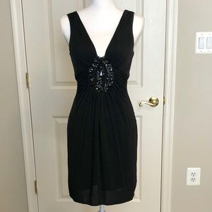BCBG Maxazria Petite Black Cocktail Dress